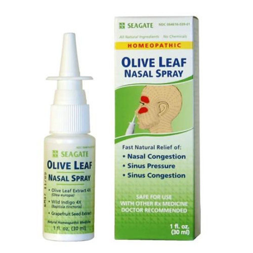Olive Leaf Nasal Spray (1 oz.)