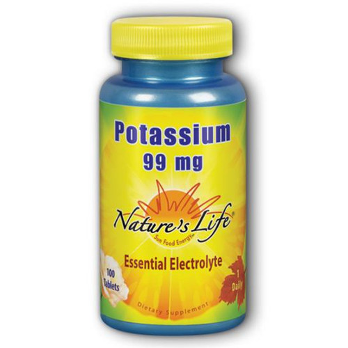 Potassium Gluconate 100 Tabs (99 mg)