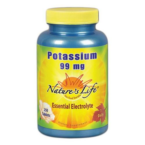 Potassium Gluconate 250 Tabs (99 mg)