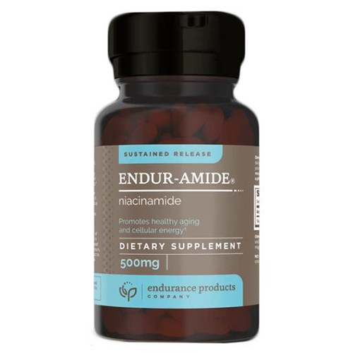 ENDUR-AMIDE (Sustained Release Niacinamide) 200 Tabs (500 mg)