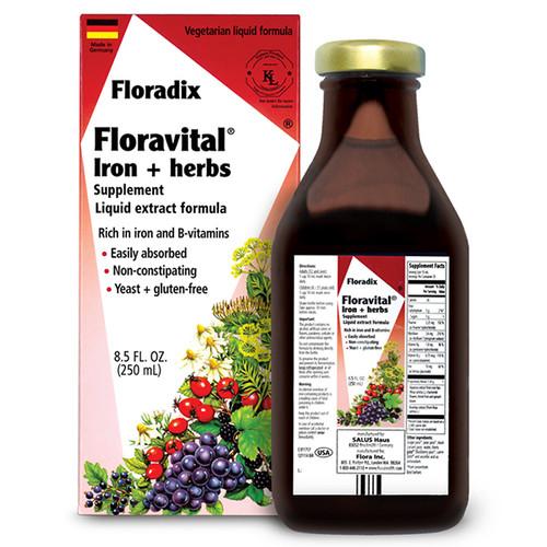 Floravital Iron Herb GF 8.5 oz.