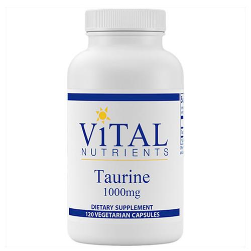 Taurine 120 VCaps (1,000 mg) per cap