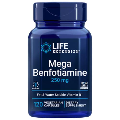 Mega Benfotiamine 120 VCaps (250 mg)