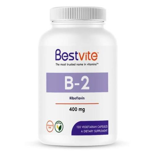 Vitamin B-2 (Riboflavin) 120 VCap (400 mg)
