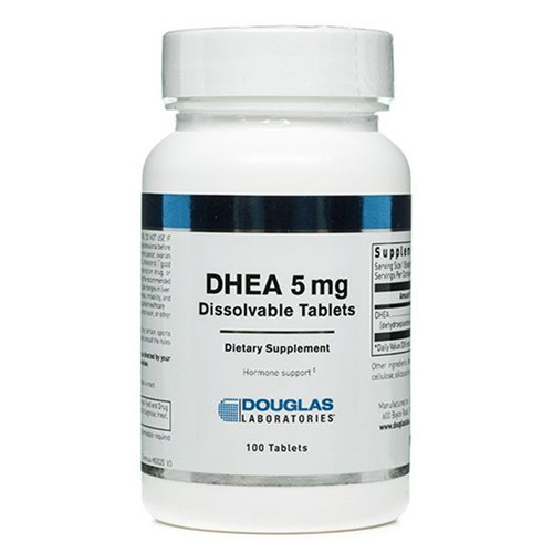 DHEA (Dissolvable) 100 Tabs (5 mg)