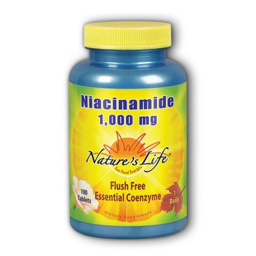 Niacinamide (Flush Free) 100 Tabs (1000 mg)