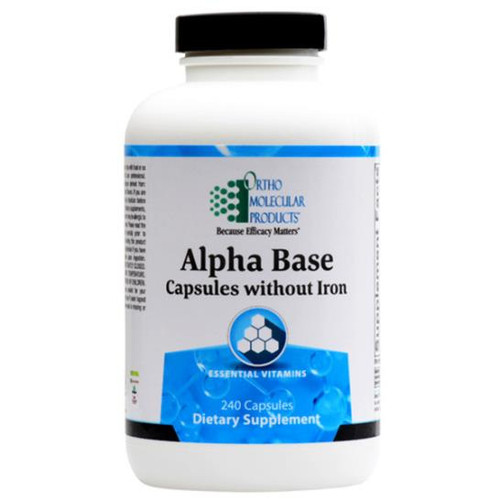 Alpha Base without Iron  240 caps