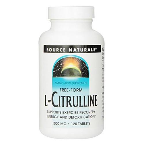 L-Citrulline 120 Tabs (1,000 mg)