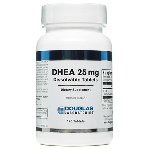 DHEA (Dissolvable) 120 Tabs (25 mg)