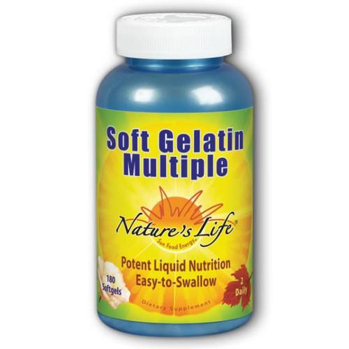 Soft Gelatin Multiple 180 softgels