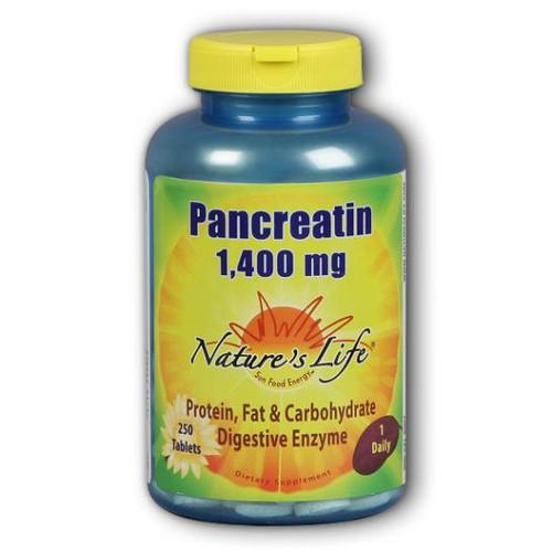 Pancreatin 250 Tabs (1400 mg)