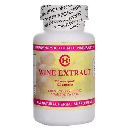 Wine Extract 120 Caps (350 mg)
