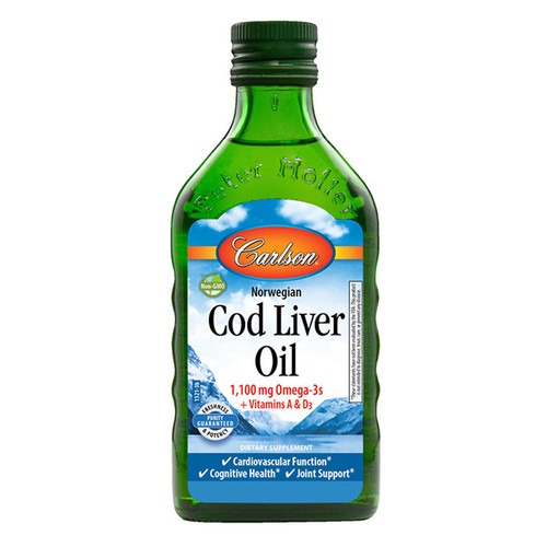 Cod Liver Oil 16.9 oz. (500 ml) Plain