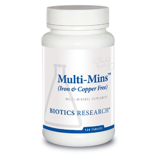 Multi-Mins (Iron & Copper Free) 120 Tabs