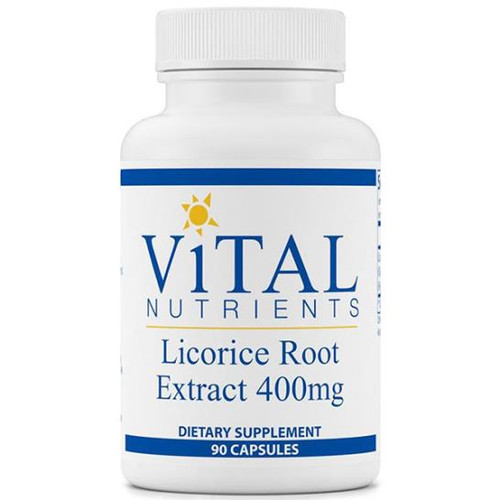 Licorice Root Extract 90 Caps (400mg)