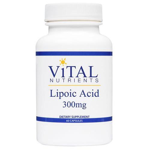 Lipoic Acid (Alpha Lipoic Acid) 60 Caps (300 mg)