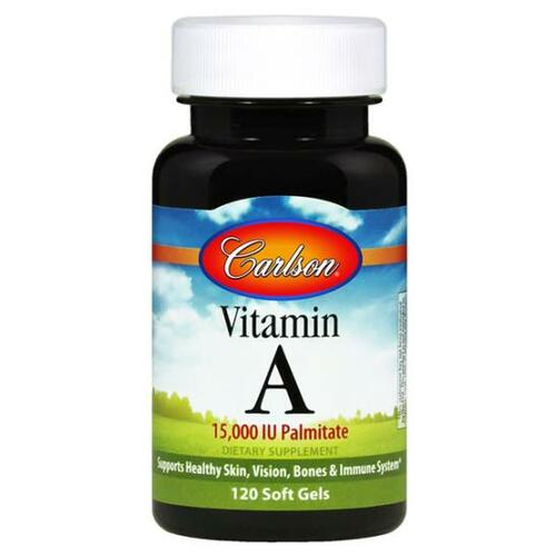 Vitamin A Palmitate 120 SoftGels(15,000 IU/4500mcg)