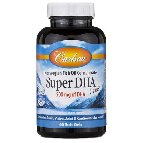 Super DHA Gems 60 Soft Gels (500 mg)