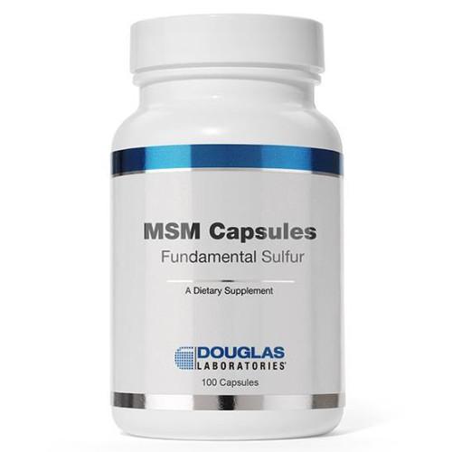MSM Fundamental Sulfur 100 Caps (750 mg)