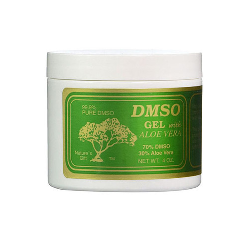 DMSO 70% 4 oz. Gel with Aloe Vera
