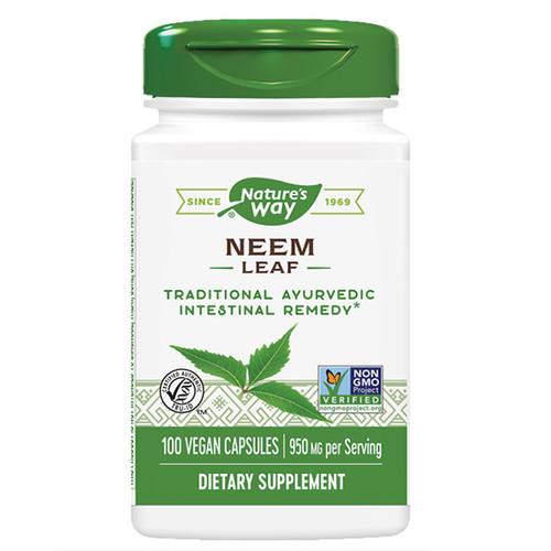 Neem Leaf 100 Caps (950 mg Per Serving)