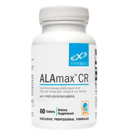 Alamax CR Alpha Lipoic Acid 600mg 60 Tabs