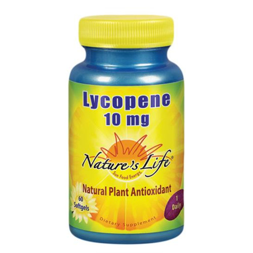 Lycopene 10 mg 60 softgels