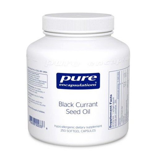 Black Currant Seed Oil 250 Softgels