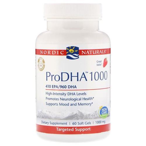 ProDHA (Strawberry) 60 Soft Gels (1,000 mg)