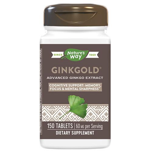 Ginkgold 150 Tabs (60mg)