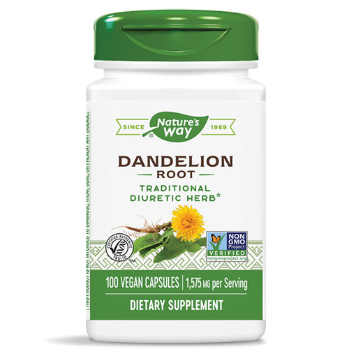 Dandelion Root 100 Caps (1,575 mg)