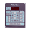 """The Bartlett V6-CF controller offers precise control and many features not available with other controllers. It comes with preset firing profiles, allowing you to fire by simply entering a cone number, as well as the option of user-defined programs. It will hold up to 6 user-defined programs with up to 8 segments in each program. Or as an option you can combine 2 programs to make one complicated program with up to 16 segments in it. The Bartlett controller has one thermocouple for each circuit in the kiln so it is excellent at ensuring even temperature from top to bottom. We still recommend the use of witness cones with all controllers. Those kiln model numbers with a bartlett controller installed are prefixed with a """"BX"""". For example BX 1822D."""