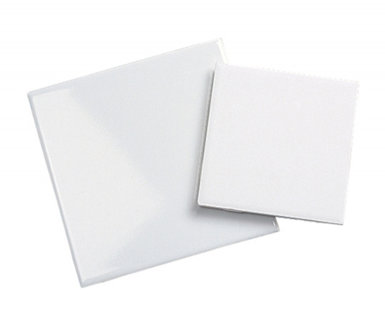 "8"" x 8"" White Glazed Tile - 50 per case"
