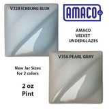 2 colors of AMACO Velvets now available in pints