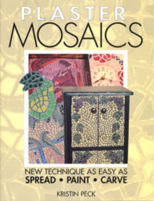Plaster Mosaics by Kristin Peck