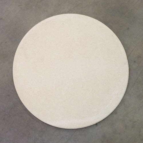 "ROUND High Alumina 21"" Full Shelf - 3/4"" Thick"