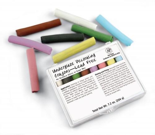 Underglaze Crayons Set 208