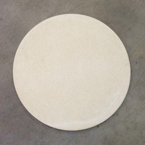"""ROUND High Alumina 26"""" Full Shelf - 3/4"""" Thick"""