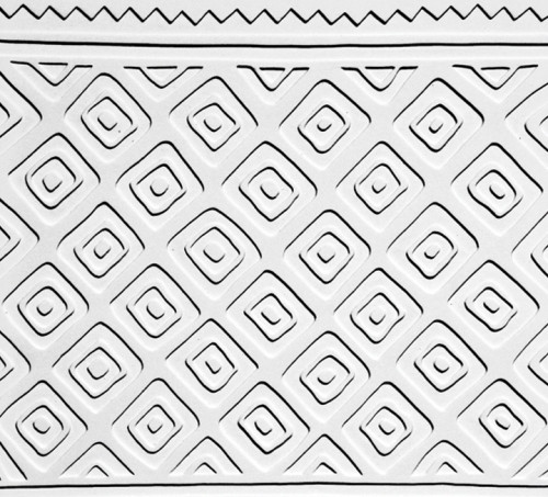 Tribal Diamond Texture Mold TM2