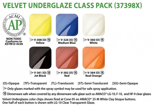 V Series Set Of 6 Class Pack