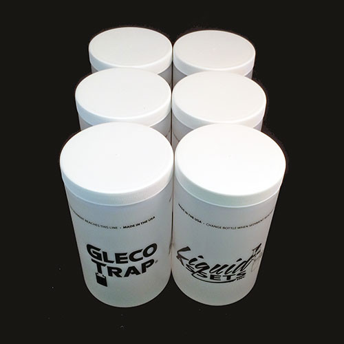 Gleco 32 oz replacement bottles - case of 6