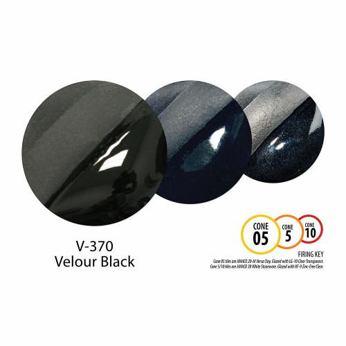 V-370 Velour Black