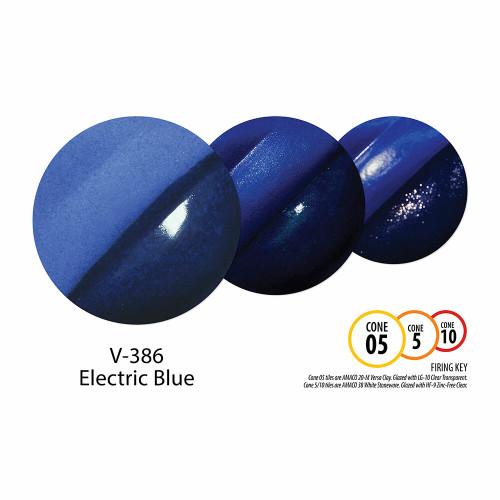 V-386 Electric Blue