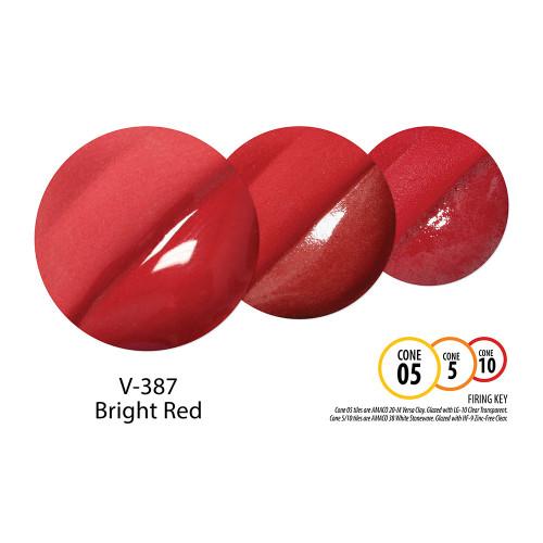 V-387 Bright Red