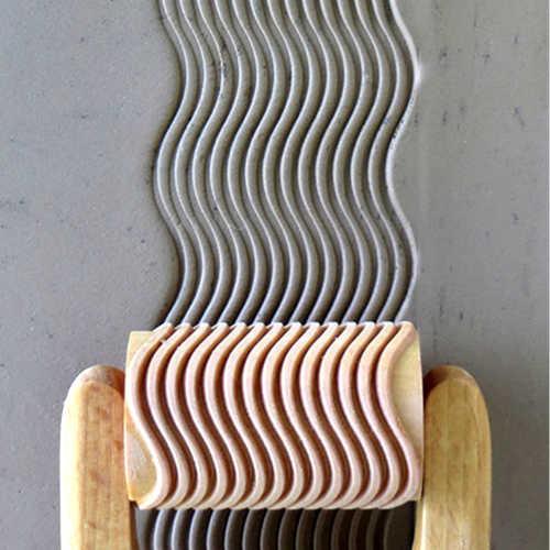 RL-002 Wavy Lines - 6 cm Roller