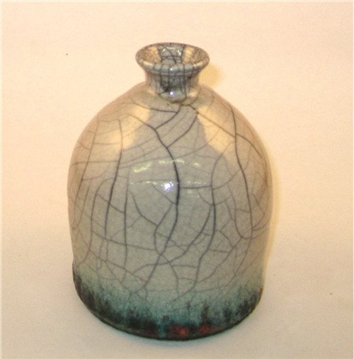 Bracker's Crackle White dry raku glaze