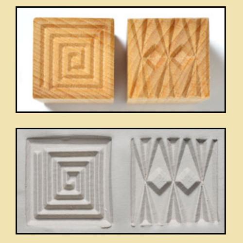 SSM-02 Square #2 - 3 cm Stamp