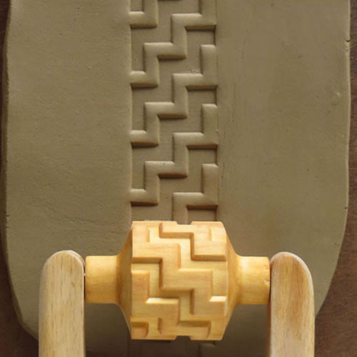 RM-018 Thick Zig-Zag - 3 cm Roller