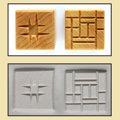 SSM-03 Square #3 - 3 cm Stamp