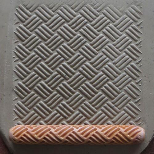 HR-23 3 Stripe Large Basket Weave HandRoller
